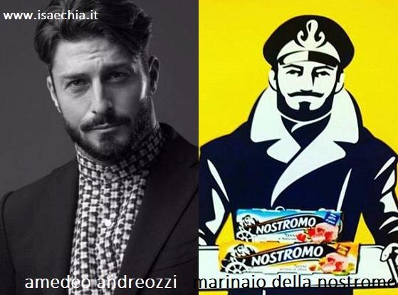 Somiglianza tra Amedeo Andreozzi e il marinaio della 'Nostromo'