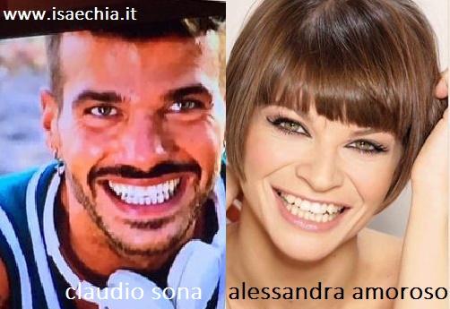 Somiglianza tra Claudio Sona e Alessandra Amoroso