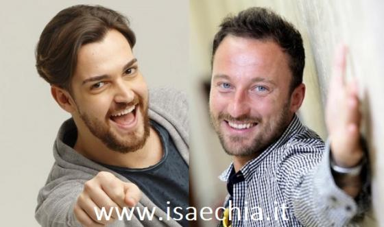 Valerio Scanu e Francesco Facchinetti