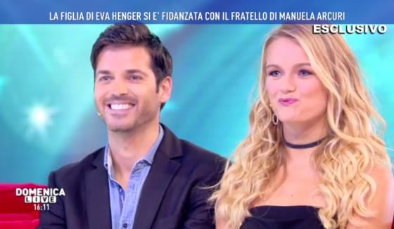 Domenica Live - Mercedesz Henger e Sergio Arcuri