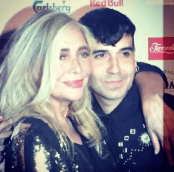 Mara Venier e Bosco Cobos