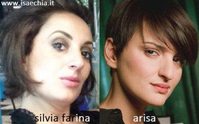 Somiglianza tra Silvia Farina e Arisa