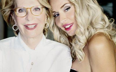 Valeria Marini e Gianna Orrù