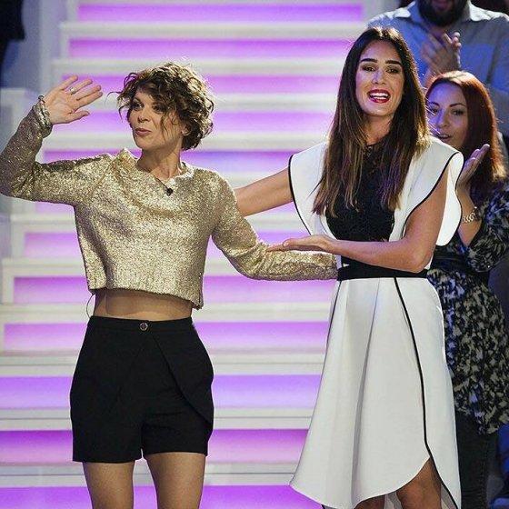 Alessandra Amoroso e Silvia Toffanin