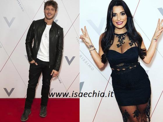 Gabriele Rossi e Alessia Macari