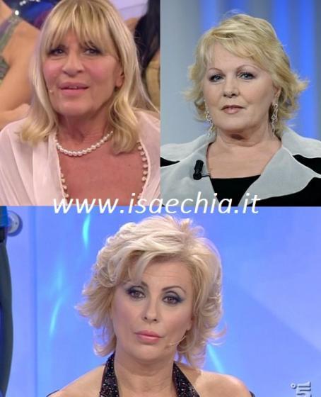 Gemma Galgani, Katia Ricciarelli e Tina Cipollari