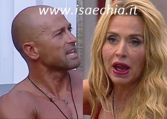 Grande Fratello Vip - Stefano Bettarini e Valeria Marini