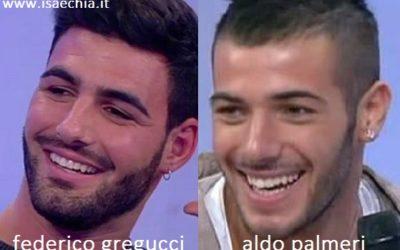 Somiglianza tra Federico Gregucci e Aldo Palmeri