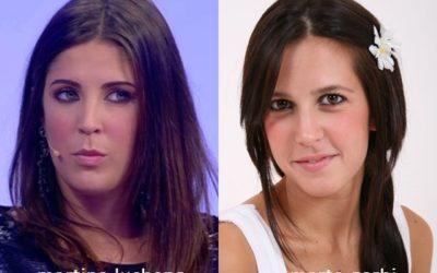 Somiglianza tra Martina Luchena e Marta Gerbi