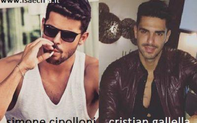 Somiglianza tra Simone Cipolloni e Cristian Gallella