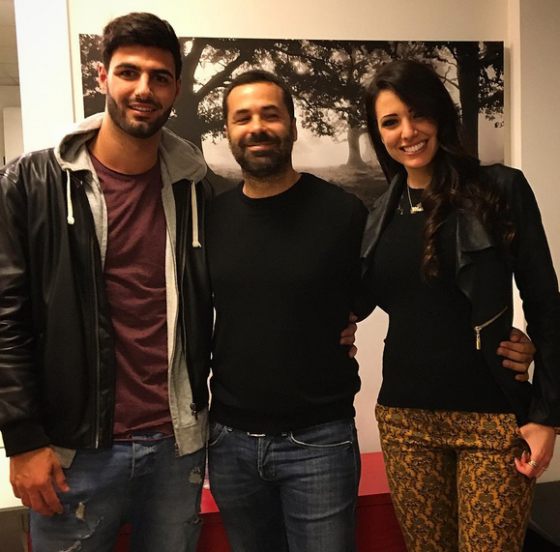 Stefanino, Federico Gregucci e Clarissa Marchese