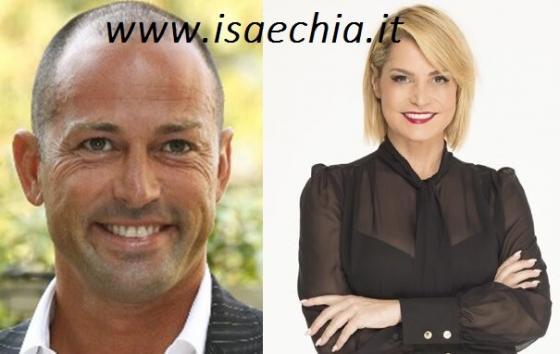 Stefano Bettarini e Simona Ventura