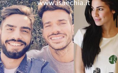 Claudio Sona, Mario Serpa e Giulia De Lellis