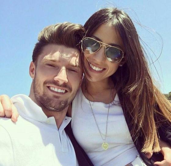 Dario Loda e Claudia Merli