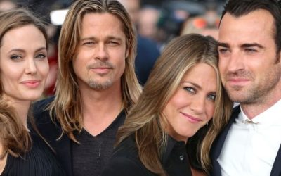 Jennifer Aniston e Justin Theroux, Brad Pitt e Angelina Jolie