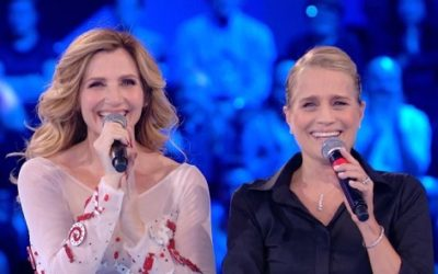 Lorella Cuccarini e Heather Parisi