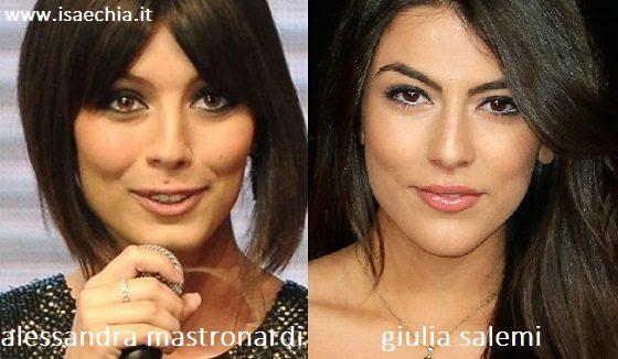 Alessandra Mastronardi e Giulia Salemi