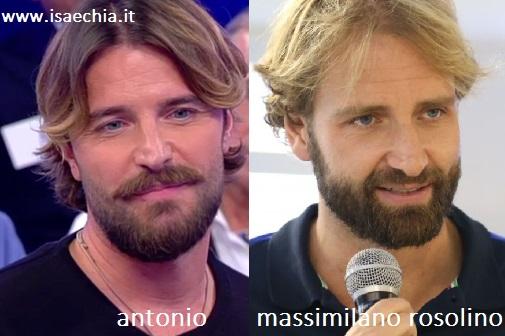 Somiglianza tra Antonio e Massimiliano Rosolino
