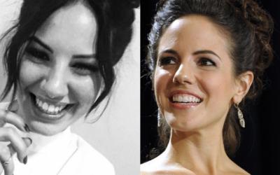 Somiglianza tra Giulia De Lellis e Anna Silk