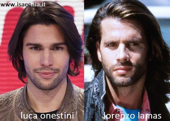 Somiglianza tra Luca Onestini e Lorenzo Lamas