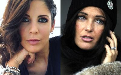 Somiglianza tra Martina Luchena e Alessia Merz