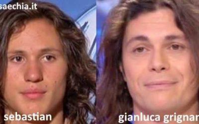 Somiglianza tra Sebastian Melo Taveira e Gianluca Grignani