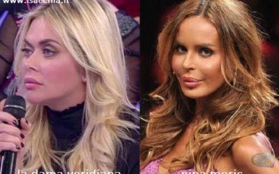 Somiglianza tra Veridiana e Nina Moric