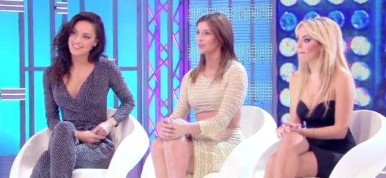 Desirée Popper, Giulia Calcaterra e Elena Morali
