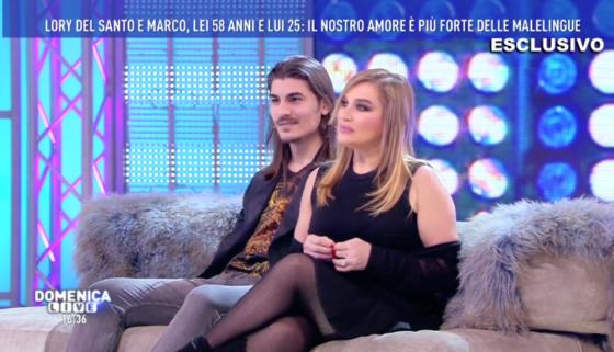 Domenica Live - Lory Del Santo e Marco Cucolo