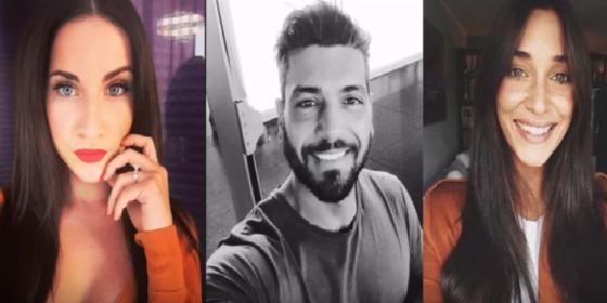 Lidia Vella, Alessandro Calabrese, Sonia Lorenzini