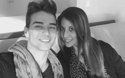 Luca Viganò e Fernanda Comano