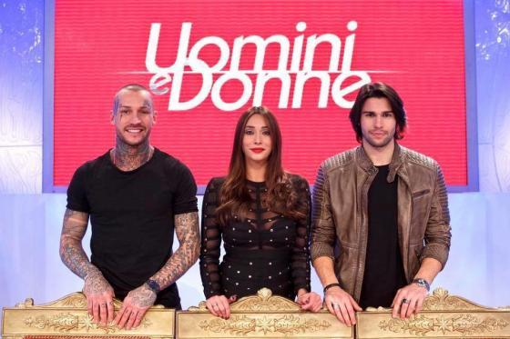 Manuel Vallicella, Sonia Lorenzini e Luca Onestini