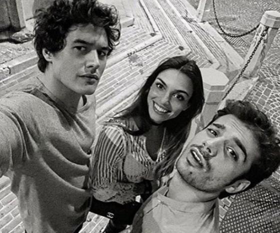 Nicole Mazzocato, Gianmarco Saurino e Cristiano Caccamo