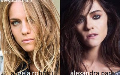 Somiglianza tra Angela Robusti e Alexandra Park