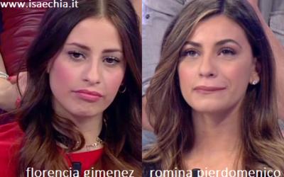 Somiglianza tra Florencia Gimenez e Romina Pierdomenico