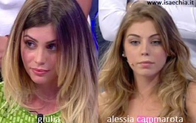 Somiglianza tra Giulia e Alessia Cammarota