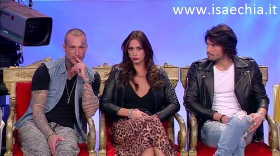 Trono classico - Manuel Vallicella, Sonia Lorenzini, Luca Onestini