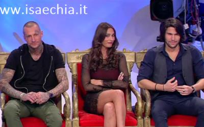 Trono classico - Manuel Vallicella, Sonia Lorenzini e Luca Onestini