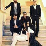 Claudio Sona, Mario Serpa, Giulia De Lellis, Andrea Damante, Federico Gregucci e Clarissa Marchese