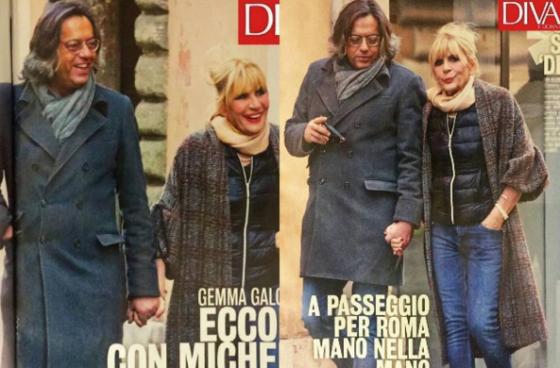 Gemma Galgani e Michele