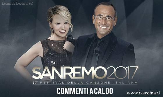 'Sanremo 2017': commenti a caldo