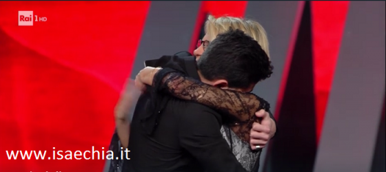 Sanremo 2017 - Lele Esposito e Maria De Filippi