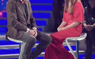 Verissimo - Silvia Toffanin e Beppe Vessicchio