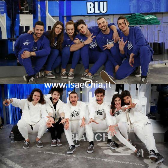 Amici 16 - Squadra Blu - Squadra Bianca