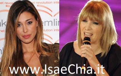 Belen Rodriguez, Iva Zanicchi