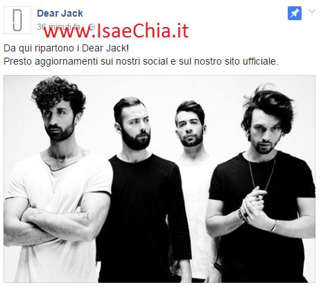 Dear Jack: Leiner abbandona la band