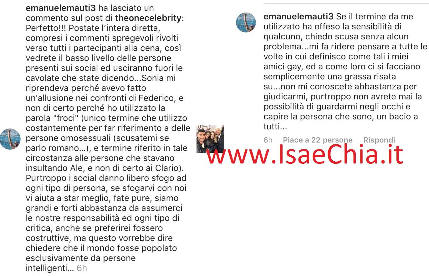 Uomini e Donne news: misteriosa rottura tra Claudio e Mario! Ecco perchè