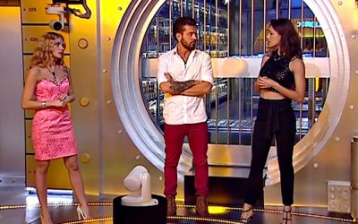 Lidia Vella, Alessandro Calabrese e Desirèe Popper