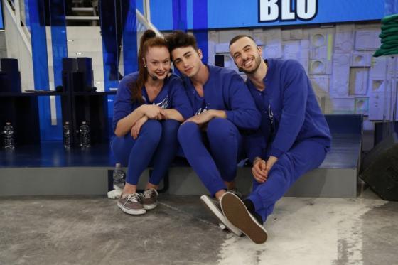 Vittoria Markov, Riccardo Marcuzzo e Andreas Muller