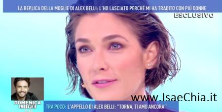 Katarina Raniakova, irrecuperabile il rapporto con Alex Belli